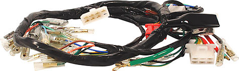 CB 70294 wiring harnesses, rectifier regulators, rotors, stators wiring harness honda cb750 at crackthecode.co