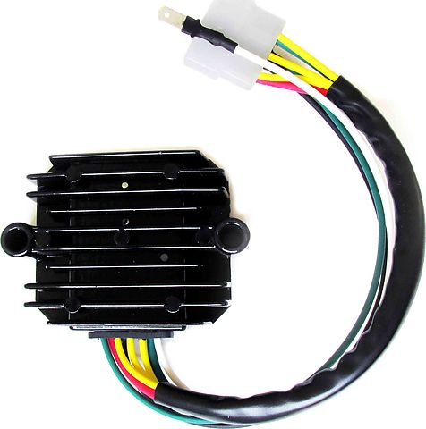 CB 70296 wiring harnesses, rectifier regulators, rotors, stators  at gsmx.co