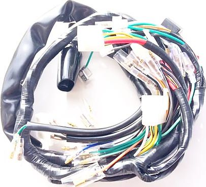 CB 71495 wiring harnesses, rectifier regulators, rotors, stators wiring harness honda cb750 at crackthecode.co